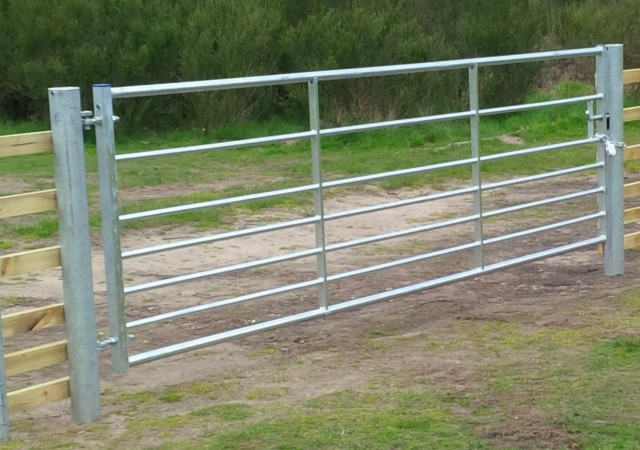 Steel Field Gates