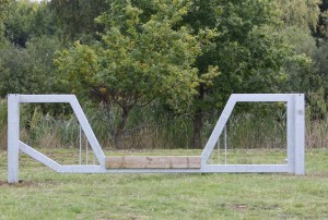 Horse Friendly Vehicle Barrier Gate