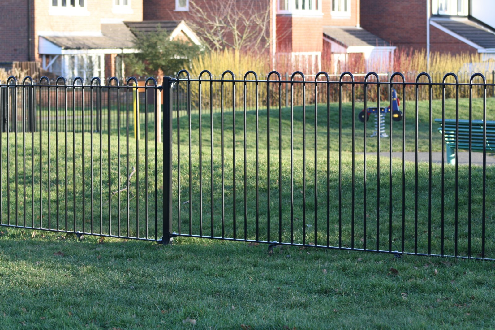 Play area fencing replaced