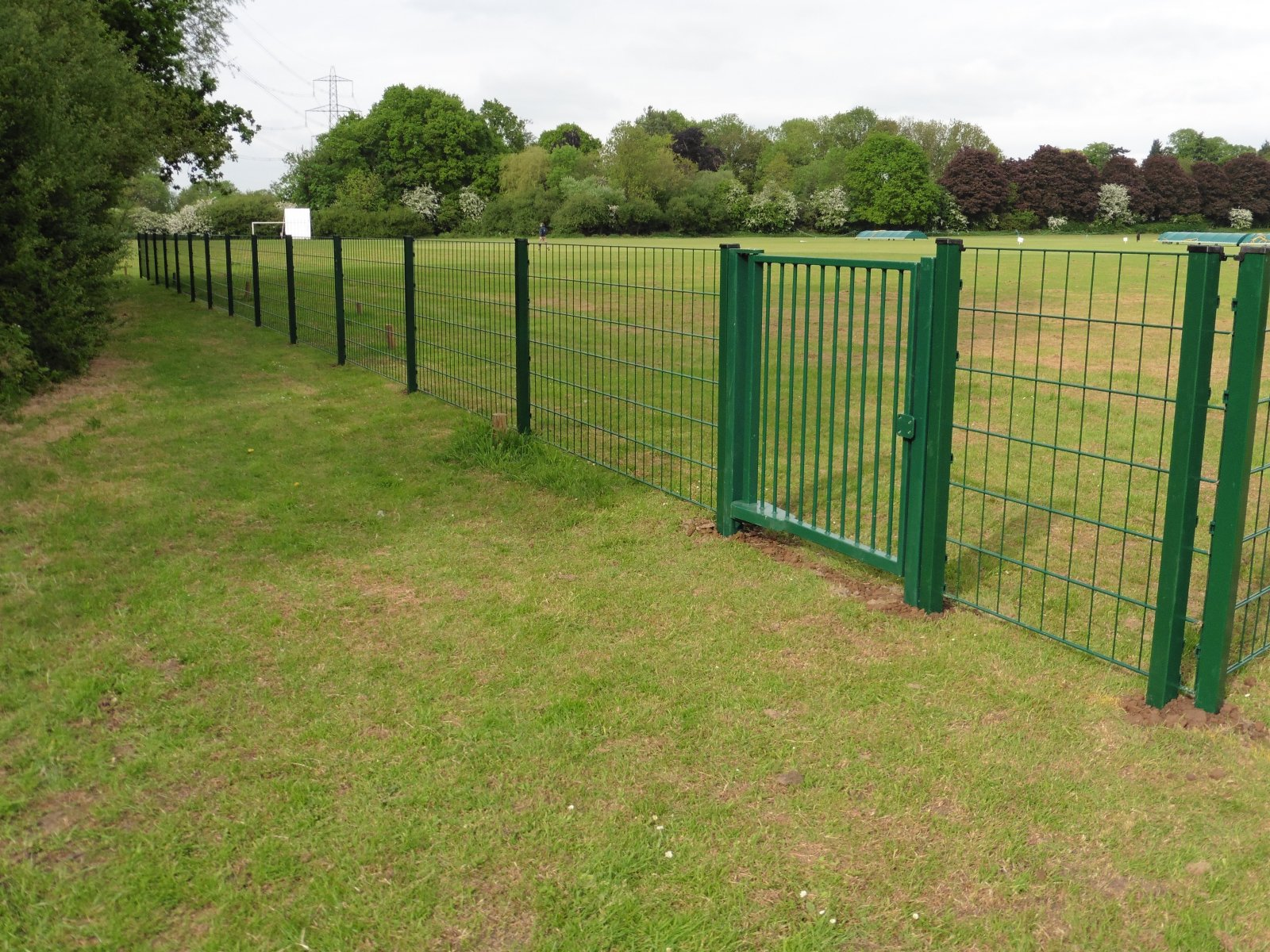 Environment Agency Specification Mesh Fencing