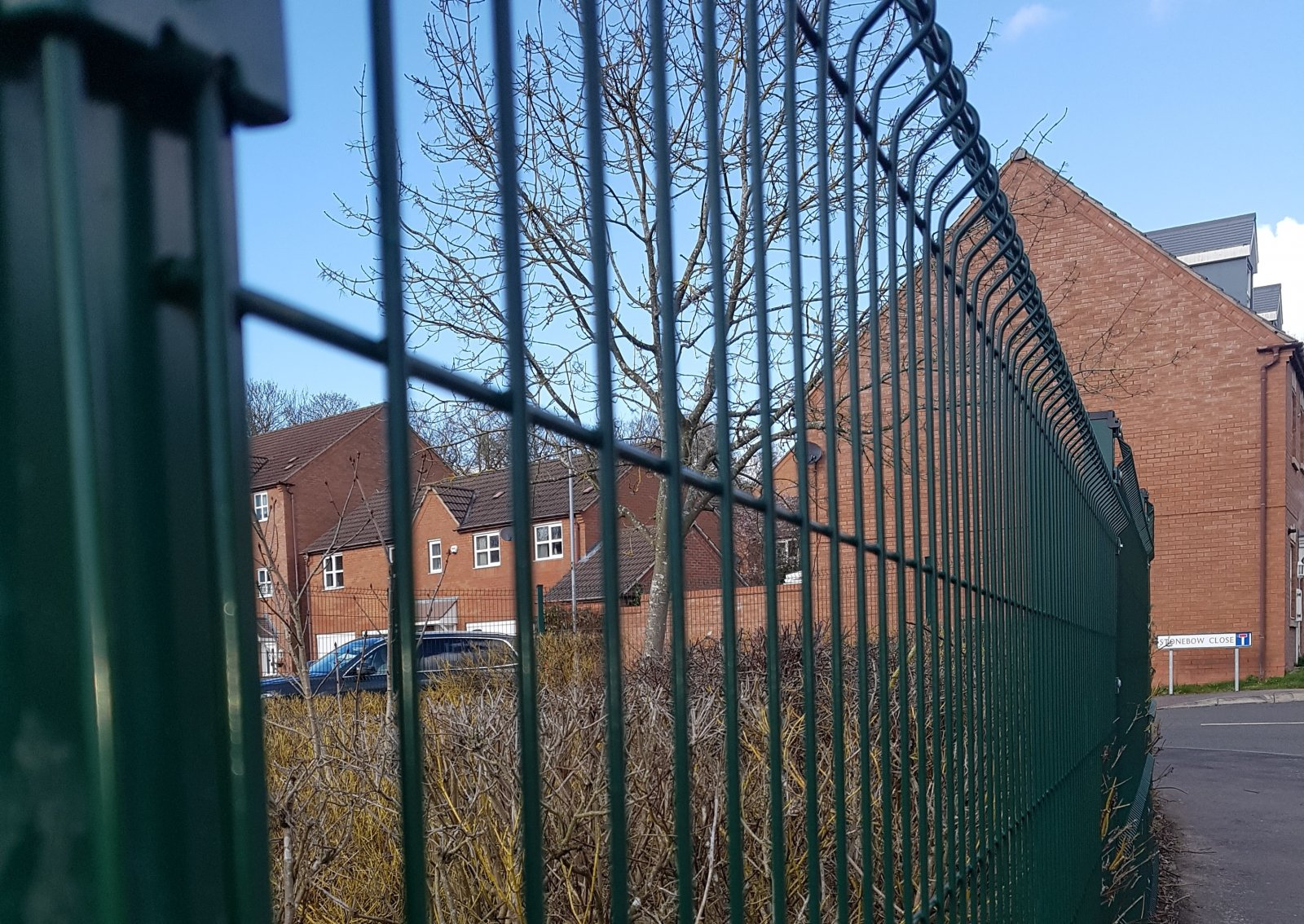Perimeter  Fencing for a Leicestershire Primary School