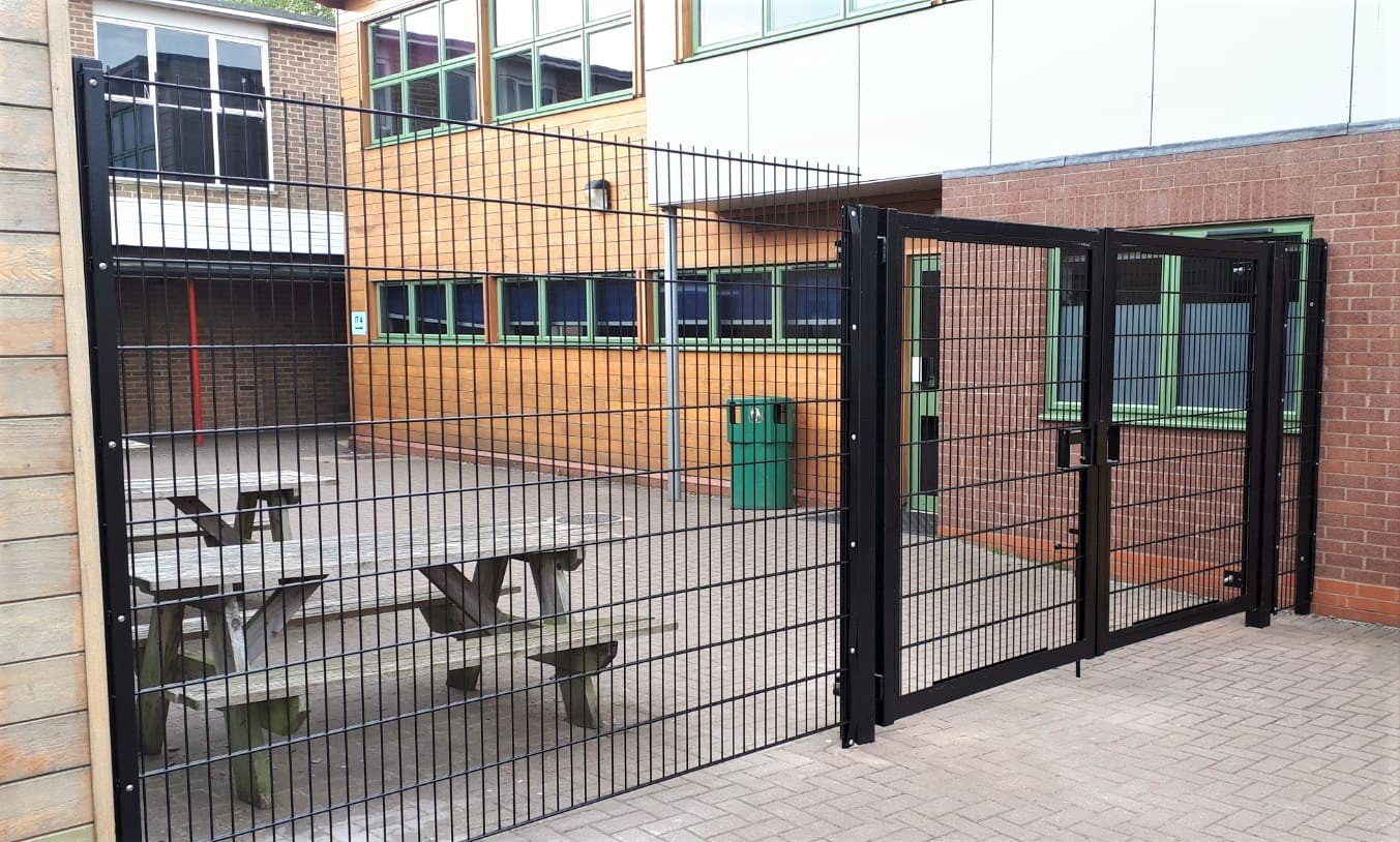 Another school safeguarded with Defender mesh security fencing