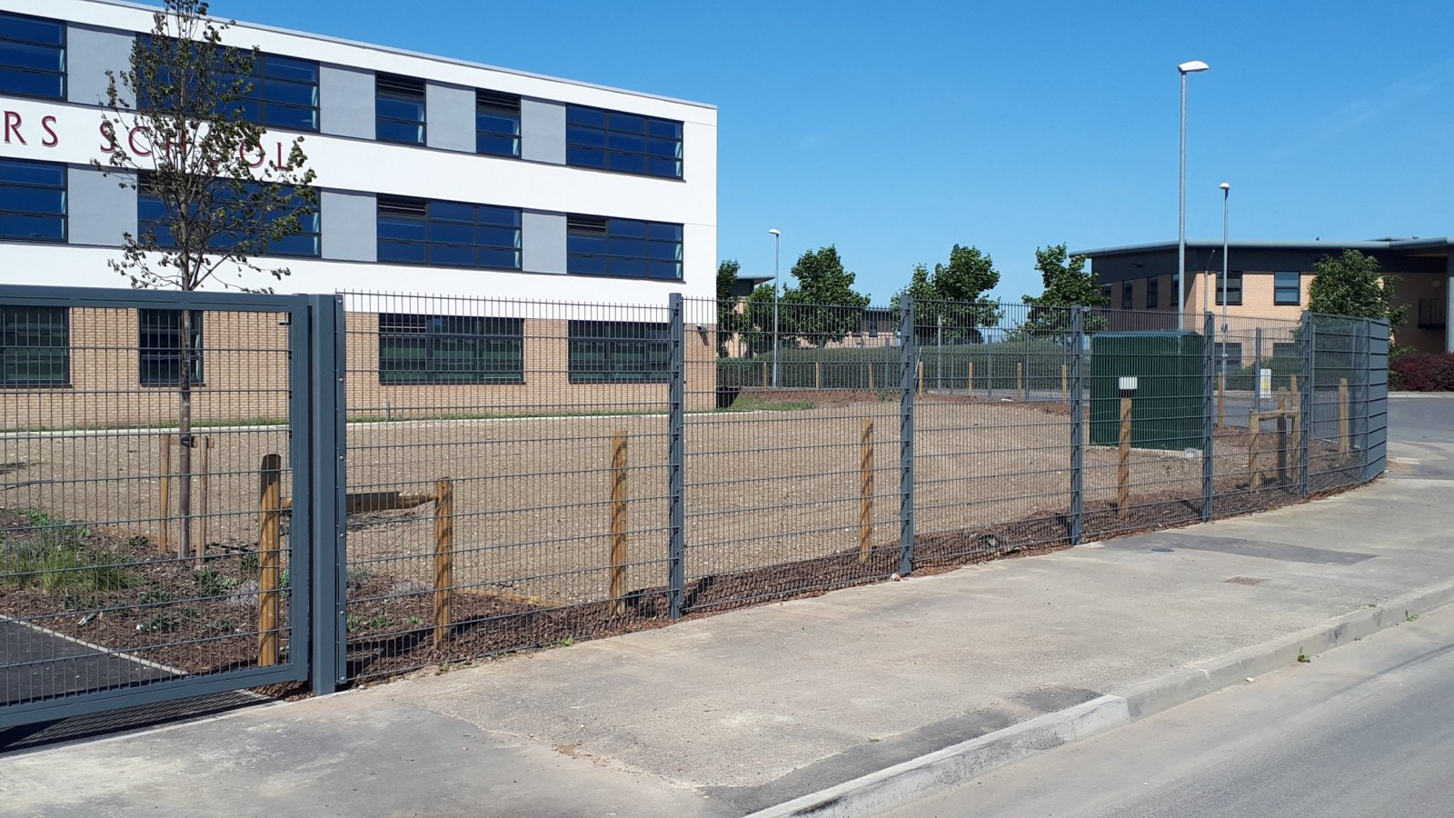 Secure-a-Field install fencing at brand new Nottinghamshire Academy